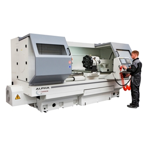 Harrison Alpha 1760XS CNC combination lathe
