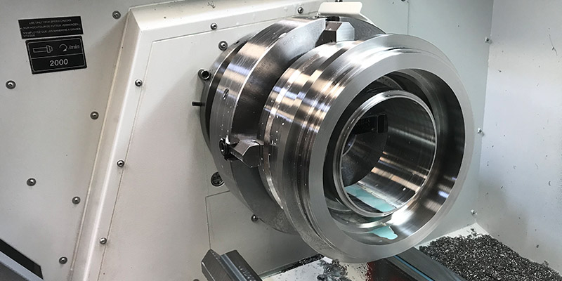 Harrison Alpha manual / cnc lathe at Cheshire Seals