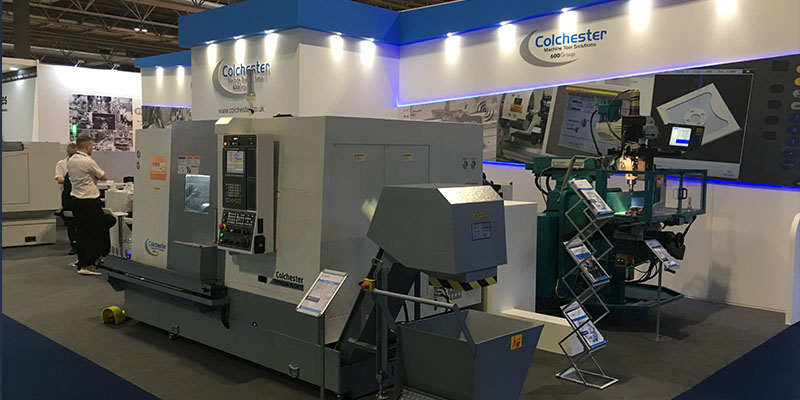 Colchester Typhoon B65MSY CNC Turning Centre