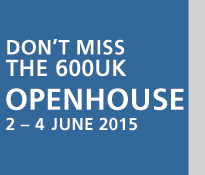 600 UK Openhouse - 2 to 4 June 2015
