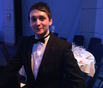 Ryan McMaster, Runner up in the MTA Manufacturing Industry Awards - Young Engineer of the Year 2015