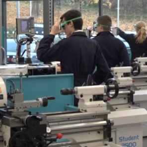 Colchester Student centre lathes at Scarborough UTC