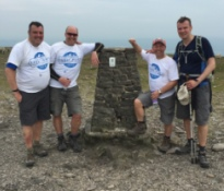 600 UK complete the Yorkshire Three Peaks